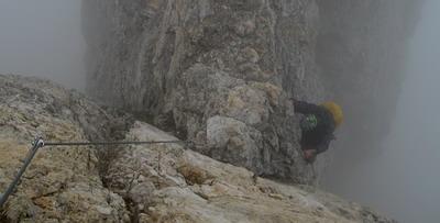 Klettersteig Magnifici Quattro : Dolomiten u2013 klettersteige