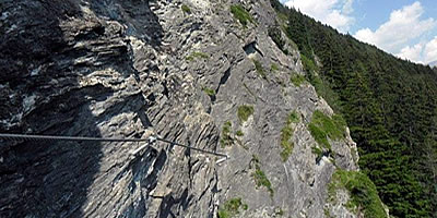 St Jodok Klettersteig : Tirol u klettersteige
